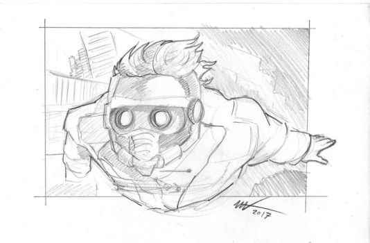 Star-lord by zookeeper02