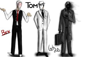 Old: Ben, Tom and Une by UnableToFindName