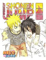 Naruto Shonen Jump Cover Entry by Bluesoul1
