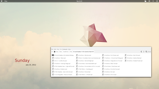 Fedora 17 - Desktop 2 by Fedo64