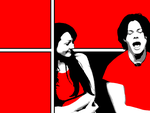 the White Stripes - 1024x768 by cobainish