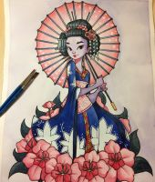 Geisha by chrissie-zullo