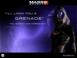 Tali'zorah vas Normandy by I-R-Corrode