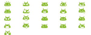 Android 4.0 Smilies for Pidgin by Schmobat