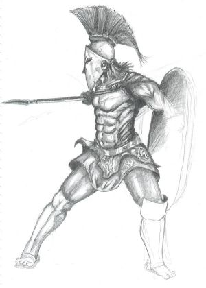 spartan warrior tattoo. spartan warrior tattoo.