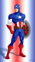 Captain America by Red-Flare