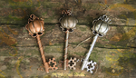 Pumpkin Key Set by MythicalFolk