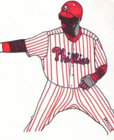 Phillie Ryan Howard by Buhla