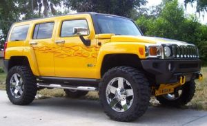 my bros hummer by DylanTeede