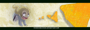 Merde Chases Doritos 111211 by WeisseEdelweiss