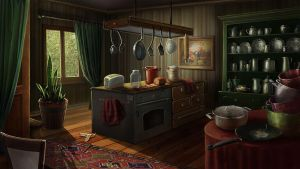 kitchen by rusechka
