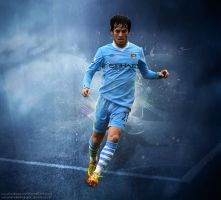 David Silva by KemalEkimGraphic