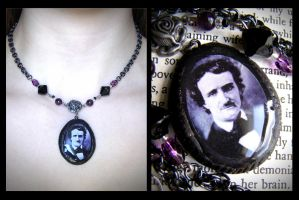 Edgar Allan Poe: Gothic Rose by dustfae