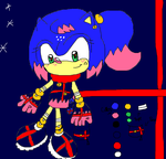 Melody Aurora Candy the Hedgehog New Refrence by OceanMelodyUnicorn