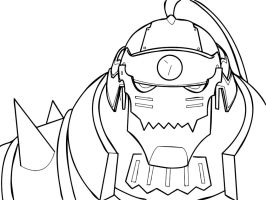 Alphonse Elric by Vectriss