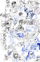 Notebook Sketches 09 2010 by FWACATA