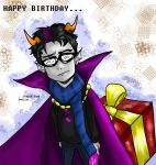 Eridan Wishes You Happy Birthday - BDay Request by RoboTheHoobo