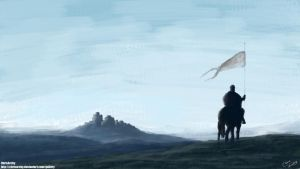 Patrol of Winterfell by ChrisArchy