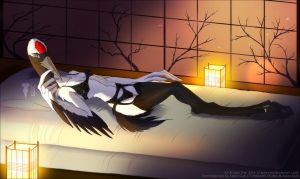 Romantic Japanese Night by Lady-Owl