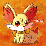 Chibi Fennekin by Veemonsito