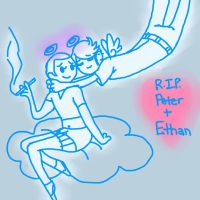 Peter and Ethan by OhIPhelia