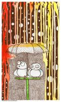 You always find the rain in rainbows by eamanee