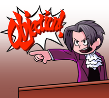 Chibi OBJECTION by Zerochan923600