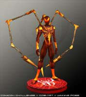 Iron Spider Final by CDB-ART