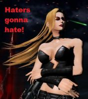 What Trish Says To Haters. by BurningKikoken