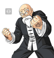 Render Roshi by HuOs