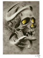 Skull by ACrowley
