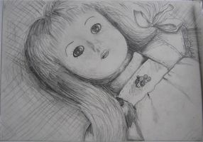 Doll Sketch by BeckyHolly