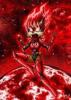 Red Lantern Sally by Berty-J-A