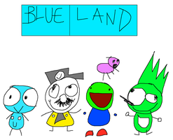 BLUE LAND THE NEW WEBSHOW by LMF100