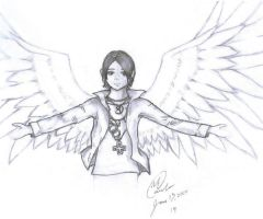 Opened Wings: Criss Angel by sockaichan