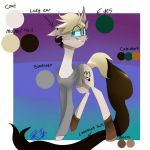ponysona ref sheet by PurpleWizard123
