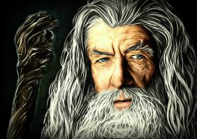~Gandalf~ by GhaythFuad