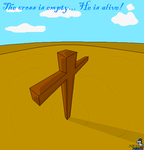 The Cross is Empty... by Mike-Dragon
