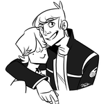 Mikey and Chuckles by AnArtistCalledRed