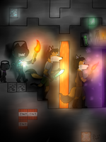 Play Minecraft- The cave (2015 redraw) by BOT-BlackOnTrack