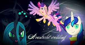 ~A canterlot wedding wallpaper by AmazingPony