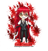 + Grell Sutcliff Chibi + by shadowjess