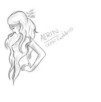 Aerin: The Ocean Goddess.-possible new LoL champ?- by Endette