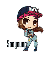 Sooyoung IGAB Chibi ~PNG~ by JaslynKpopPngs
