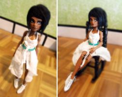 Male-To-Female OOAK  Monster High Female Clawd by Kayke
