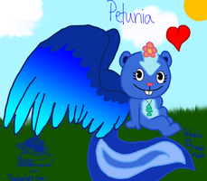 Petunia With Wings by cyngawolf