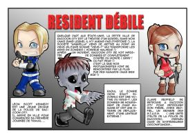 Resident Debile by Rik-VReal