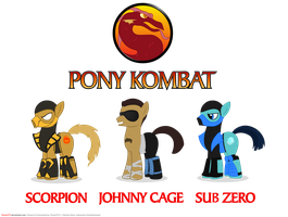 Pony Kombat by Timon1771