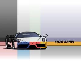 Enzo R3M1X Minimal Wallpapers by ThEReAlWaZzAr