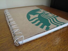 Handmade Starbucks Journal by Biothief